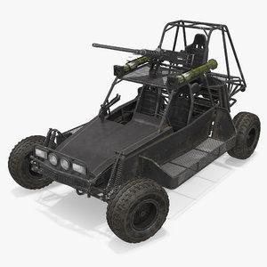 desert patrol vehicle dpv 3d model