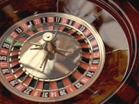 Casino Roulette Wheel - Animated