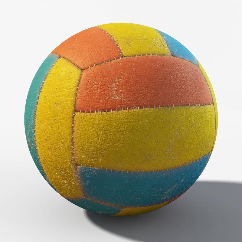 ball dirty 3d max
