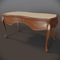 furniture desk 3d max