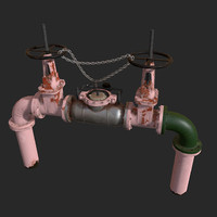 Backflow Prevention Device | Architectural environment asset