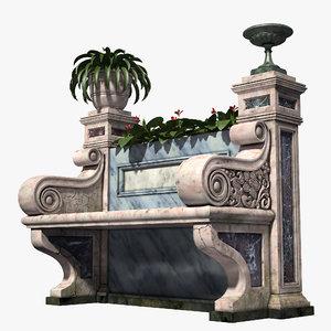 antique bench max