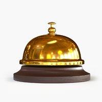 3d model reception bell