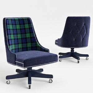 doldi chair 1039 3d model