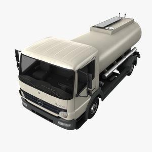 mercedes-benz atego tanker 3d max