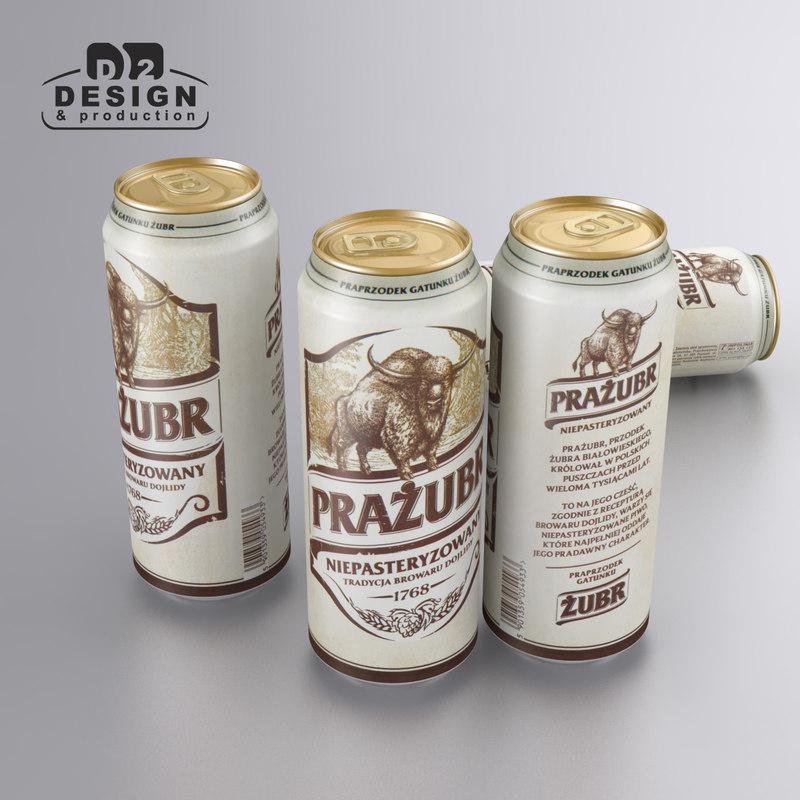 beer dojlidy prazubr 3d max