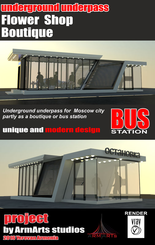 3d underground underpass moscow
