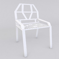 3d design chair model