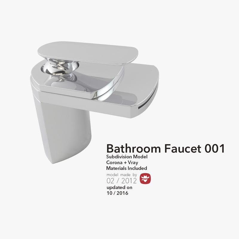 modern bathroom 3d max