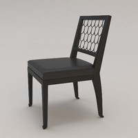 maritime chair christian liaigre 3d max