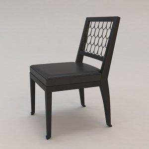 maritime chair christian liaigre 3d max