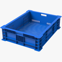 plastic fish crate max