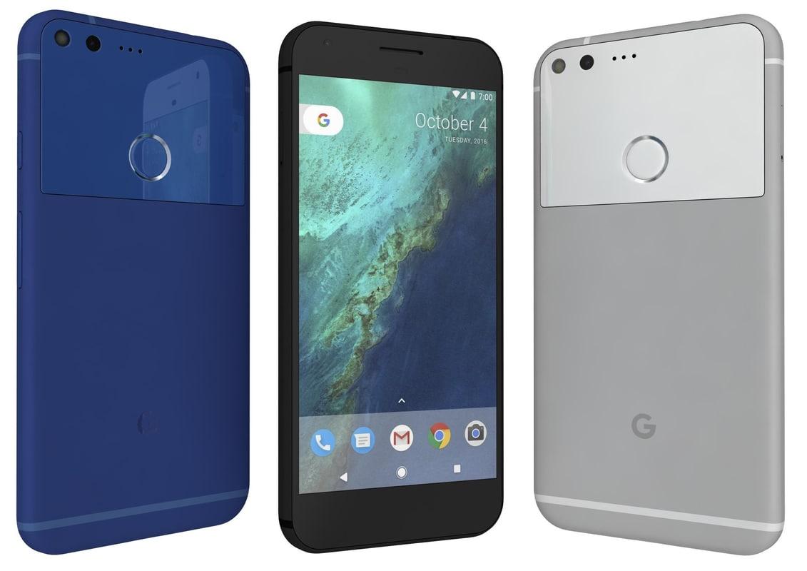 google pixel xl colors 3d 3ds