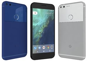 google pixel xl colors 3d 3ds