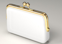 money purse 3d model