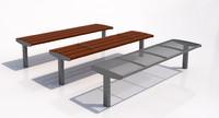 mmcite vera solo benches 3d max
