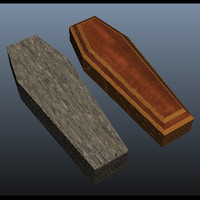 old coffin 3d x