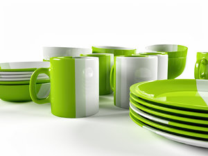 max set color romanian dishes