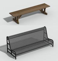 bench obj