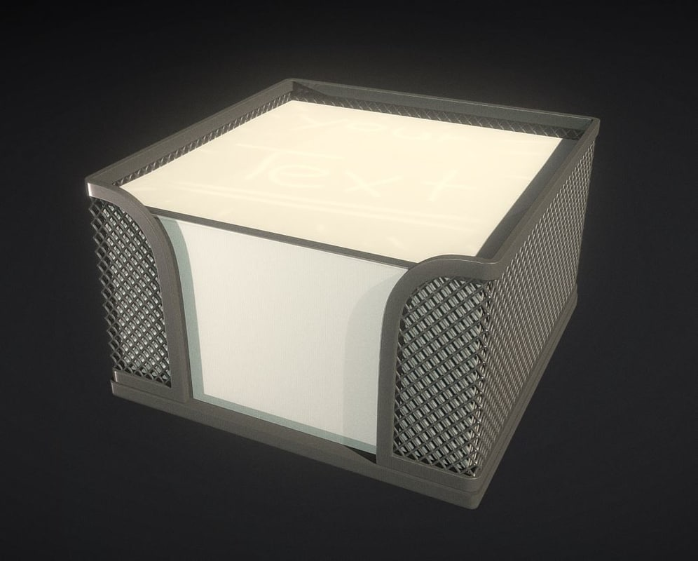 wire mesh cube 3d 3ds