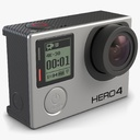 gopro hero4 3D models