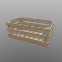 Wood Crate 01