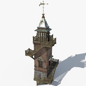 3ds max realistic water tower