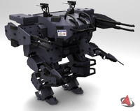 mehca armored 3d 3ds