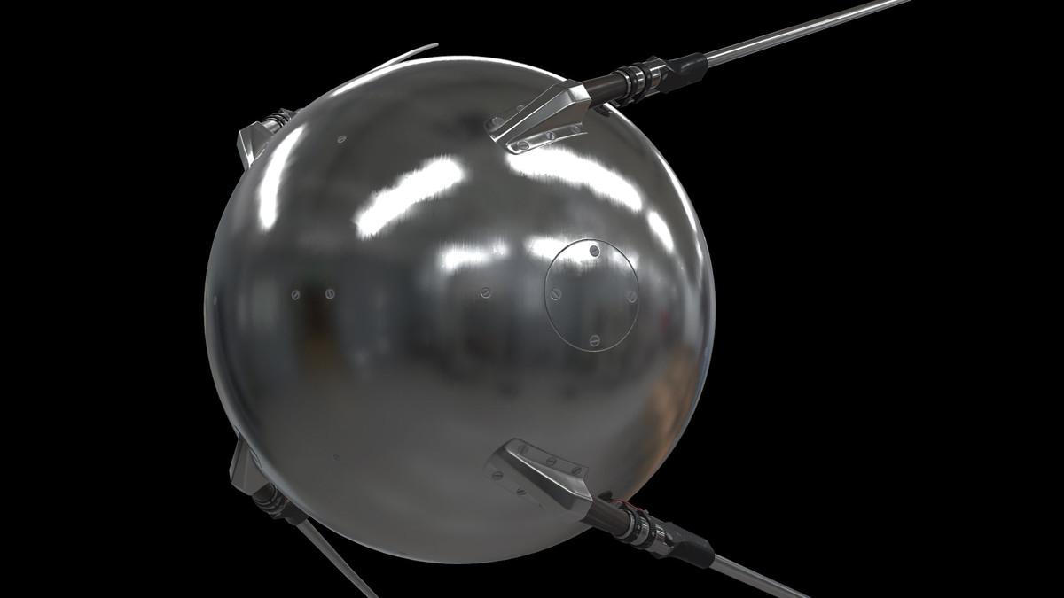 3d spacecraft games unity model