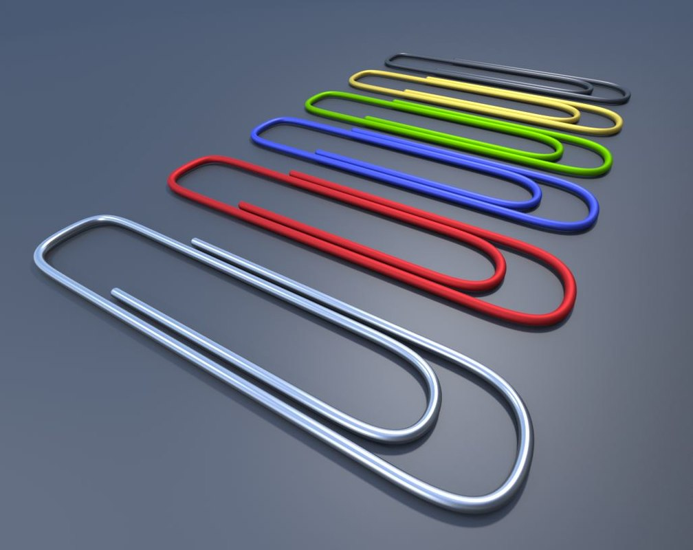 3ds paperclips office