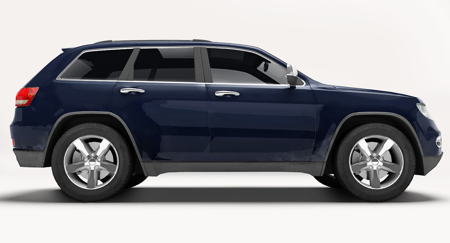 realistic generic suv 3ds