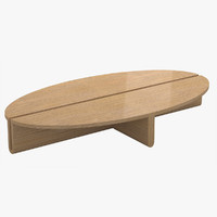 3d model avenue road dup oval table
