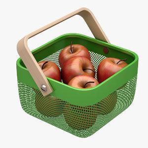 ikea risatorp fruit 3d model