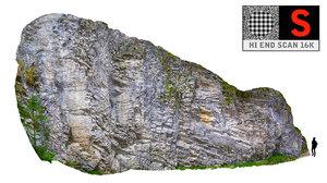 3d model rock hd 16k