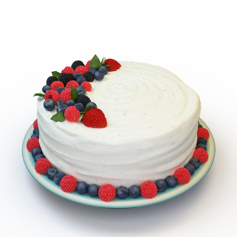 cake 058 3d model