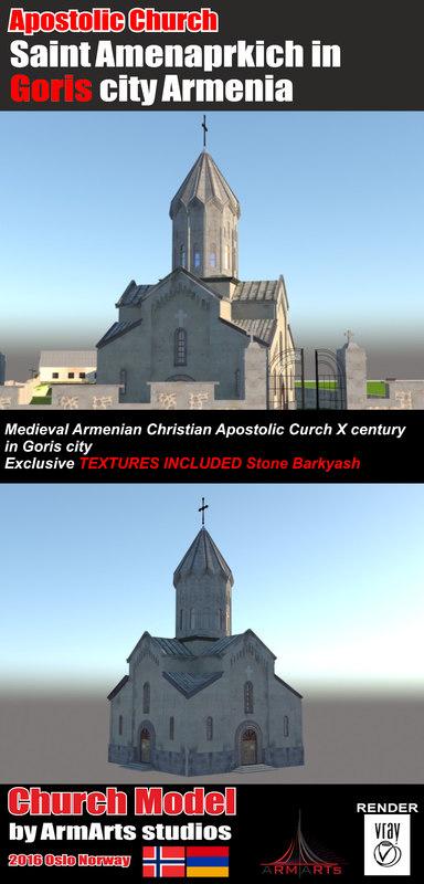 church goris 3d model