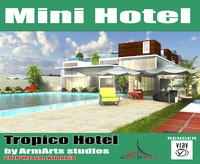 max mini hotel modern house