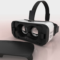 samsung gear vr 3d model
