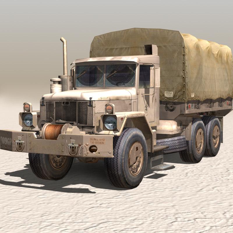 3d military truck 02
