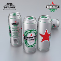 Beer can Heineken 500ml