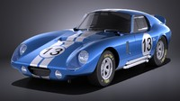 shelby daytona cobra 3d 3ds