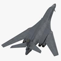 Strategic Bomber Rockwell B-1 Lancer Rigged