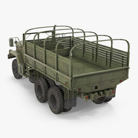 cargo truck m35 3d max