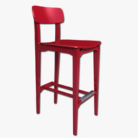 3ds bar stool