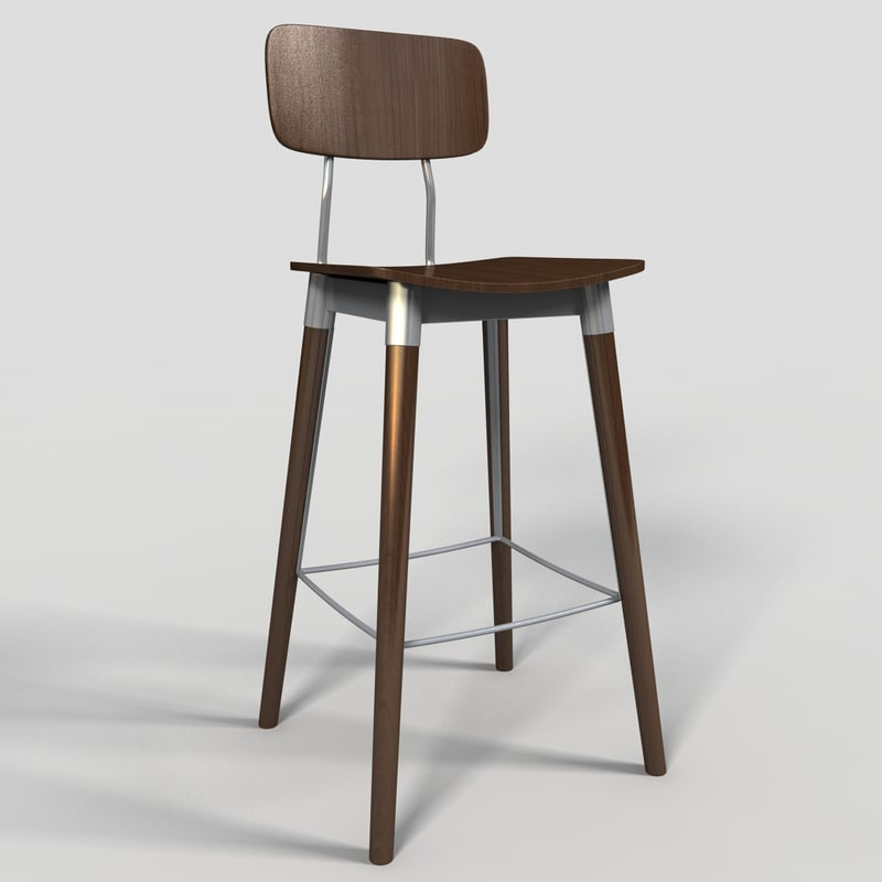 bar stool 3d model