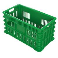 green plastic crate 3d max