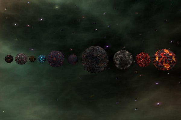 c4d package planets