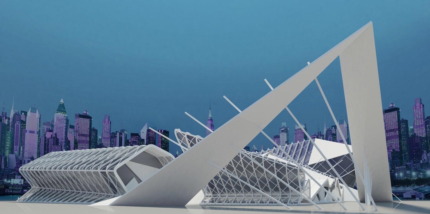 modern futuristic max