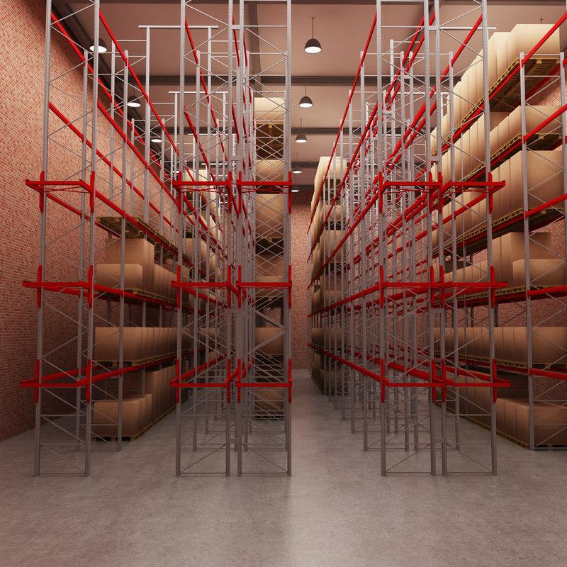 3d model warehouse interior house
