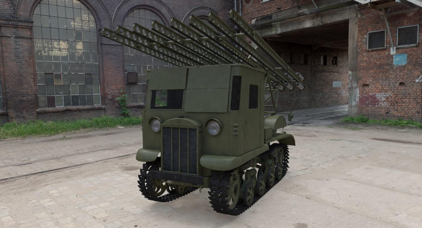 Soviet BM-13 Katyusha STZ-5-NATY
